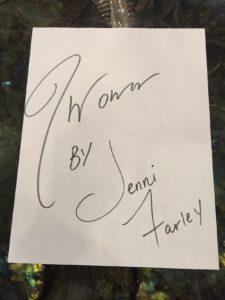 Jwoww's signature